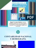 CONTABILIDAD NACIONAL Y DEMOGRAFIA
