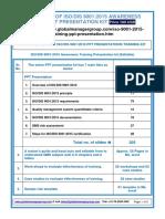 1537 Iso 9001 2015 Awareness Training Presentation Kit 56
