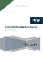 CRE Laboratory Manual