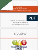 Quejas, Retiro de Un Producto, Producción y Análisis Por Contrato - Copia