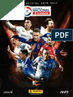 Campeonato Nacional Scotiabank 2016-2017 (Panini)