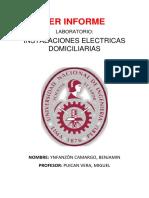 Instalaciones electricas Domicilarias