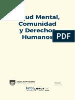 Salud mental, Comunidad y DDHH