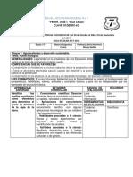 Asignatura Estatal.- Secuencia Didactica 09.- 2017-2018