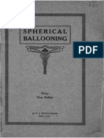 Spherical Ballooning-some of the Requirements 1917