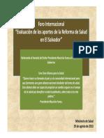 Analisis Reforma de Salud OPS 28082013