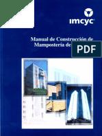 Manual de Construccion de Mamposteria de Concreto