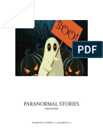 Example of Paranormal Stories