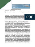 El personal técnico del FMI concluye la misión del Artículo IV con Argentina correspondiente a 2017