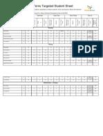 ferns targeted student sheet 2017