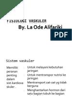 FISIOLOGI VASKULER