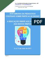 Ok Lattes - Caderno_resumo Uniserra - 2017