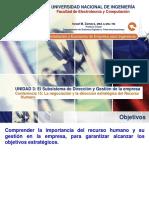 Lecture 15 - La Negociación y La Dirección Estratégica Del Recurso Humano.