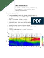 Aplicaciones en Obra Civil y Geotecnia