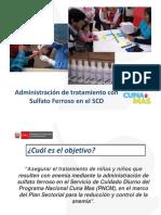 PPT Administración de Sulfato Ferroso en El SCD_Registro de Tamizaje, MN y SF en Ficha 9 (1)