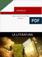 Literatura Diapositivas Camilo Serrano