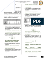 Parctica de Matrices