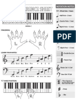 Piano Reference Sheet