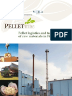 Pellet logistics and transportation of raw materials in Finland