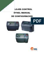 Manual de Configuracion de Reloj Sy-745