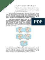 La Teoría de La Tectónica de Placas y La Deriva Continental 1