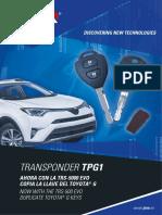 Toyota g Ferro