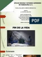 Bioetica Fin de La Vida y El Aborto