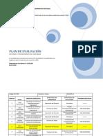 Plan de Evaluación  sistemas y procedimientos contables VIII semestre sección 31 y 32 II-2010
