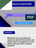 1 Primera Clase-motivación