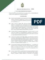 Ordenanza Metropolitana No 0404 Quito Ecuador