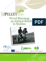 Wood Shavings as Animal Bedding in Stables
