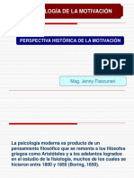 2 SEGUNDA CLASE - PERSPECTIVA HISTÓRICA DE LA MOTIVACIÓN.ppt