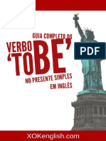 Guia Completa Do Verbo to Be No Presente Simples