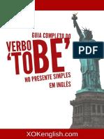 Guia Completa Do Verbo to Be No Presente Simples