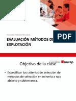 Clase Evaluacion Metodos de Explotacion (10)