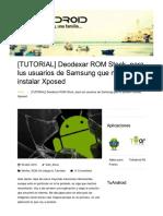 Deodexar ROM Stock, Para Lus Usuarios de Samsung Que No Pueden Instalar Xposed _ TuAndroid