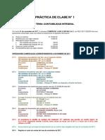 Practica Clase 1 - Integracion Contable - Upn