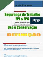 Treinamento EPI EPC