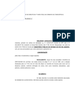 CONTESTAÇÃO Ação Civil Publica