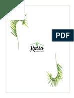 Kassá Organic House - Menu