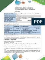 Guía de actividades y rúbrica de evaluación - Actividad 3 Diagnosticar y caracterizar el problema de investigación.pdf