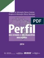 IBGE 2014 - Perfil Dos Estados e Dos Municípios Brasileiros