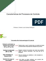 Caracteristicas de Processos de Controle
