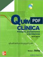 Química clínica 5° Edición - Michael L. Bishop