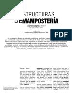 4 Estructuras de Mamaposteria