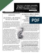 June 2006 Jayhawk Audubon Society Newsletter