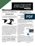 October 2006 Jayhawk Audubon Society Newsletter