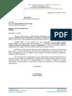 Carta de Presentacion Servicios