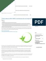 ¿Cómo afecta la ISO 14001 a las finanzas de una empresa_ - Software ISO.pdf