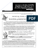 June 2008 Jayhawk Audubon Society Newsletter